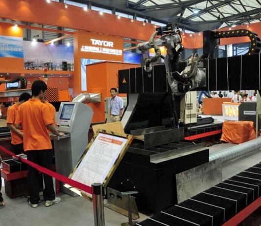 В Шанхае открылась ежегодная международная промышленная выставка