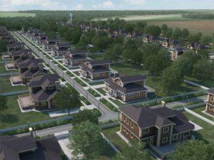 Проектирование поселка под ключ с использованием BIM технологий