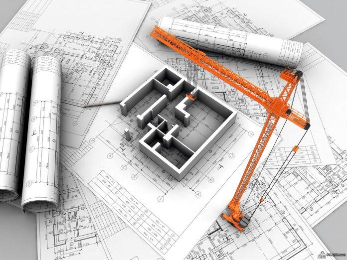Строительство в августе
