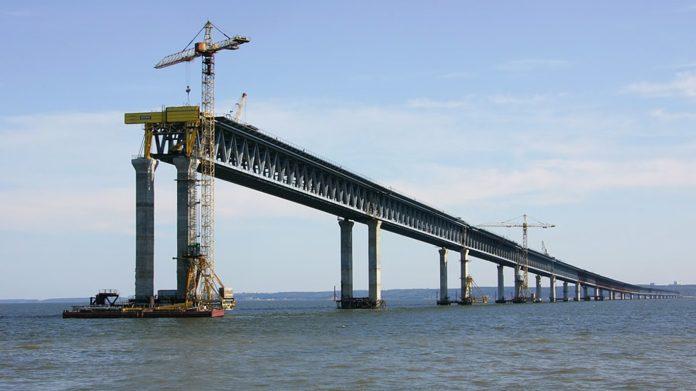 Главная стройка страны - Крымский мост