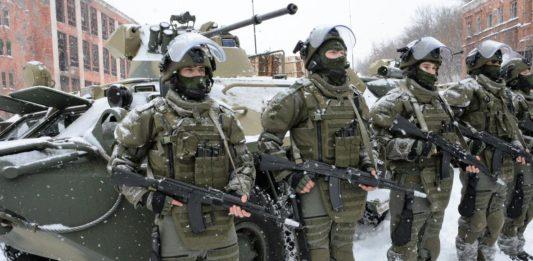 Штатная численность Российской армии