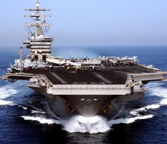 Авианосцы США приблизились к берегам КНДР