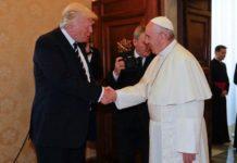 Дональд Трамп прибыл в Италию для встречи с папой римским