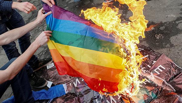 Марш секс меньшинств на Украине