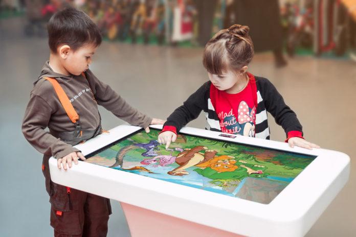 Интерактивные столы для детей