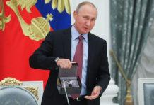 Владимир Путин встретился с представителями российской бизнес-элиты